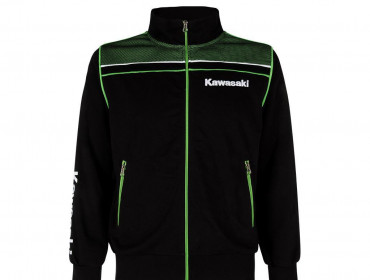 KAWASAKI Sweatshirt Zipe Sport