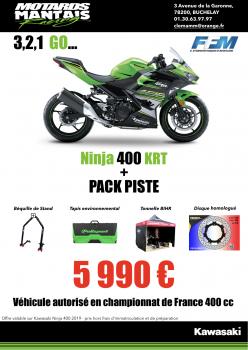 Ninja 400 Pack Piste